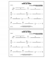 Viva La Vida - Cymbals Sheet Music