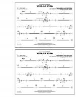 Viva La Vida - Aux Percussion Sheet Music