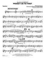 Would I Lie to You? - Tenor Sax 1 Sheet Music