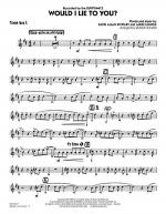 Would I Lie to You? - Tenor Sax 2 Sheet Music
