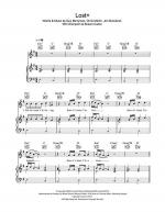 Lost+ Sheet Music