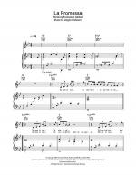La Promessa Sheet Music