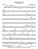 Danza Final (from Estancia) - String Bass Sheet Music