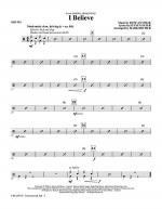 I Believe - Drums Sheet Music
