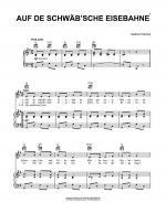 Auf De Schwab'sche Eisebahne Sheet Music