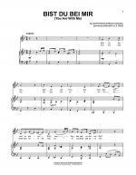 Bist Du Bei Mir Sheet Music