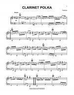 Clarinet Polka Sheet Music