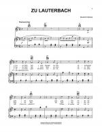 Zu Lauterbach (At Lauterbach) Sheet Music