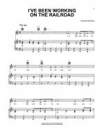 I've Been Working On The Railroad Sheet Music