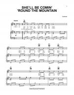 She'll Be Comin' 'Round The Mountain Sheet Music