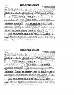 Trooper Salute - Snare Drum Sheet Music