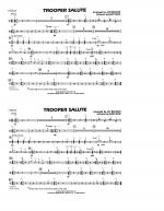 Trooper Salute - Cymbals Sheet Music