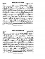 Trooper Salute - Tri-Toms Sheet Music