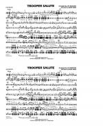 Trooper Salute - Multiple Bass Drums Sheet Music