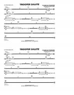 Trooper Salute - Aux Percussion Sheet Music