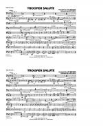 Trooper Salute - Timpani Sheet Music