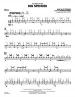 Big Spender - Drums Sheet Music