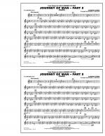 Journey of Man - Part 3 (Youth) - Eb Baritone Sax Sheet Music