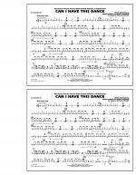 Can I Have This Dance (from High School Musical 3) - Snare Drum Sheet Music