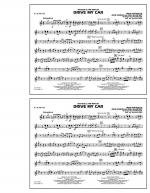 Drive My Car - Eb Alto Sax Sheet Music