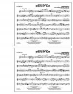 Drive My Car - Bb Tenor Sax Sheet Music