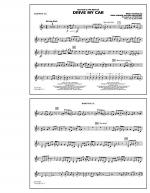 Drive My Car - Baritone T.C. Sheet Music