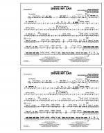 Drive My Car - Snare Drum Sheet Music