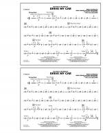 Drive My Car - Cymbals Sheet Music