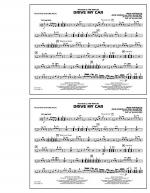 Drive My Car - Multiple Bass Drums Sheet Music