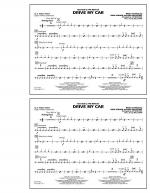 Drive My Car - Aux Percussion Sheet Music