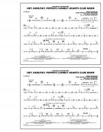 Hey Jude/Sgt. Pepper's Lonely Hearts Club Band - Cymbals Sheet Music