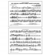Hey Jude/Sgt. Pepper's Lonely Hearts Club Band - Multiple Bass Drums Sheet Music