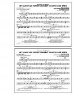 Hey Jude/Sgt. Pepper's Lonely Hearts Club Band - Aux Percussion Sheet Music