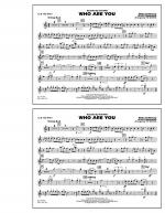 Who Are You - 1st Bb Trumpet Sheet Music