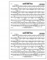 Who Are You - Tuba Sheet Music