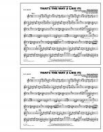 That's the Way (I Like It) - Bb Clarinet Sheet Music