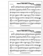 That's the Way (I Like It) - 1st Bb Trumpet Sheet Music