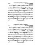 That's the Way (I Like It) - Trombone Sheet Music