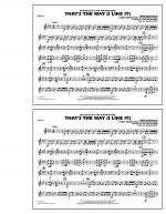 That's the Way (I Like It) - Bells Sheet Music