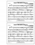That's the Way (I Like It) - Xylophone Sheet Music