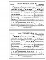 That's the Way (I Like It) - Snare Drum Sheet Music
