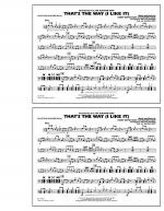 That's the Way (I Like It) - Multiple Bass Drums Sheet Music