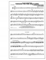 Through the Fire and Flames - 1st Bb Trumpet Sheet Music