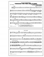 Through the Fire and Flames - 2nd Bb Trumpet Sheet Music