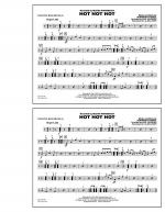 Hot Hot Hot - Multiple Bass Drums Sheet Music