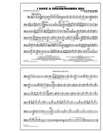 I Have a Dream/Mamma Mia! - Baritone B.C. (Opt. Tbn. 2) Sheet Music