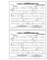 I Have a Dream/Mamma Mia! - Cymbals Sheet Music
