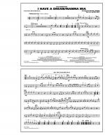 I Have a Dream/Mamma Mia! - Multiple Bass Drums Sheet Music