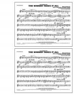 The Winner Takes It All (from Mamma Mia!) - Bb Tenor Sax Sheet Music