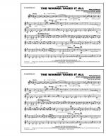 The Winner Takes It All (from Mamma Mia!) - Eb Baritone Sax Sheet Music